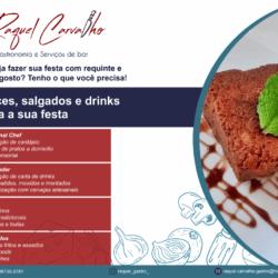 2 - Anuncio Raquel Gastronomia e Serviços de bar