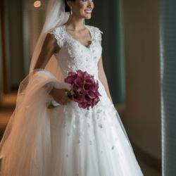 Vestido Noiva MARIE LAFAYETTE e Cristais SWAROSKI