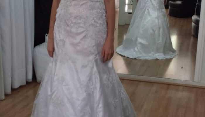 Vestido de Noiva de Renda - Nunca Usado!