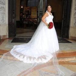 Vestido de Noiva Usado uma única vez