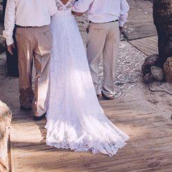 Vestido de Noiva Renda Off White