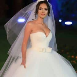 vestido de noiva tomara que caia decote coração